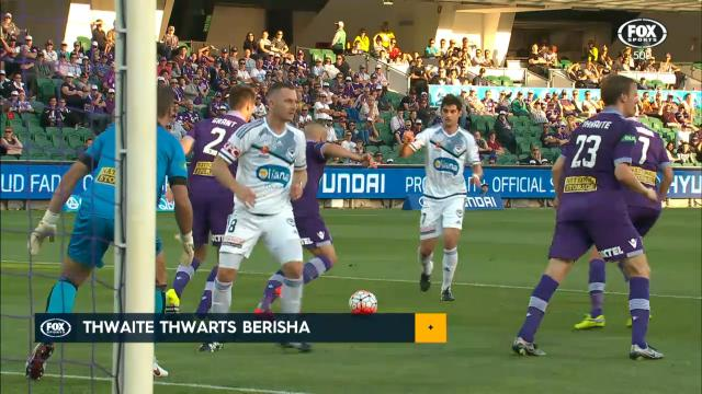 Thwaite inspires Glory win
