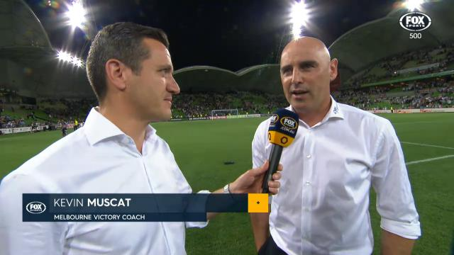 Muscat happy with second half