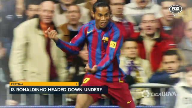 Ronaldinho may join A-League