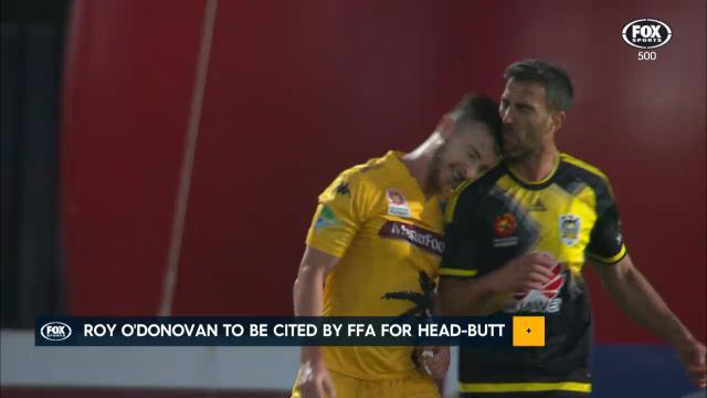 Moss on O'Donovan headbutt