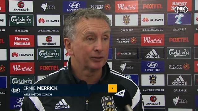 Merrick praises ref's bravery