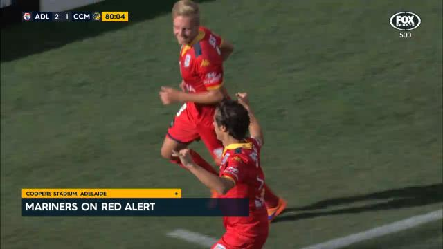 Red alert for Mariners