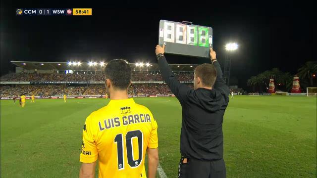 Garcia makes A-League debut