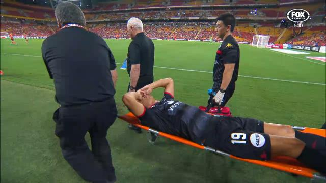 Babalj ruptures ACL