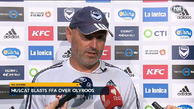 Muscat unhappy with FFA