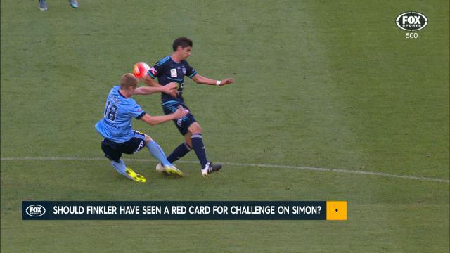 Finkler deserved a red card