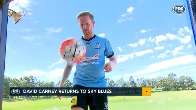 Carney crucial for Sydney FC