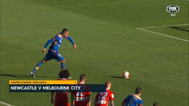 Jets upset Melbourne City