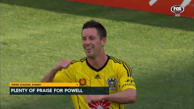 Plenty of praise for Powell