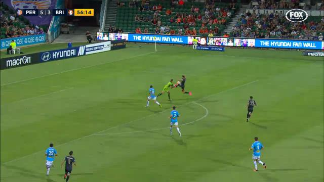 Covic's courageous save