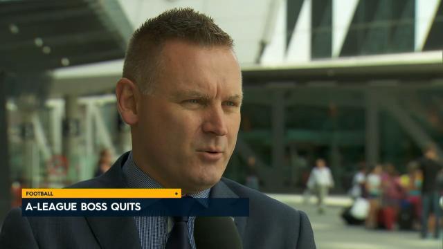 A-league boss calls it quits