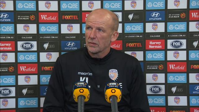 Perth Glory press conference
