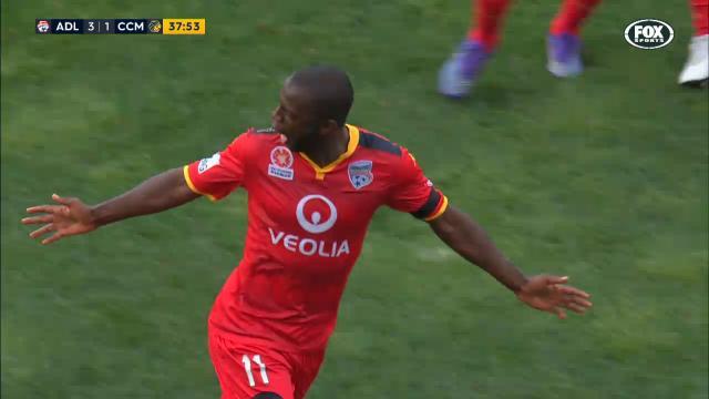 Djite goal equals club record