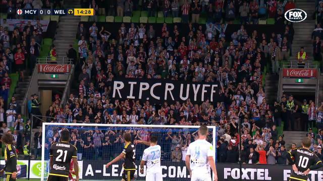 Melb City's tribute to Cruyff