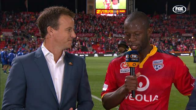 Djite elated to be in GF