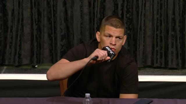 Diaz has a dig at McGregor
