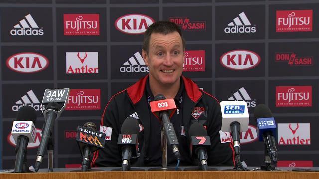 Essendon press conference