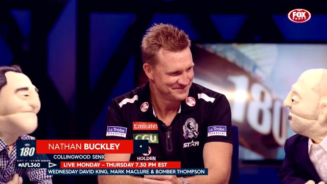 AFL 180: Nathan Buckley