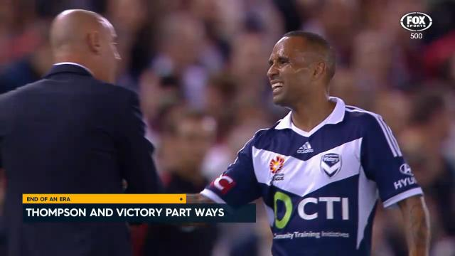 Thompson leaves the Victory