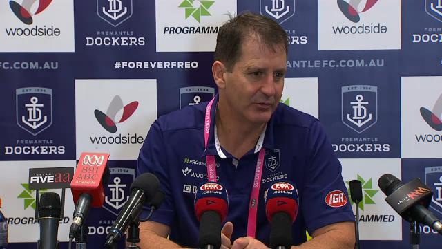 Fremantle press conference