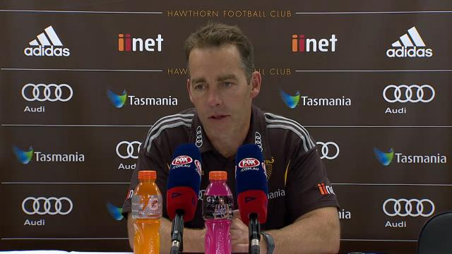 Hawthorn press conference