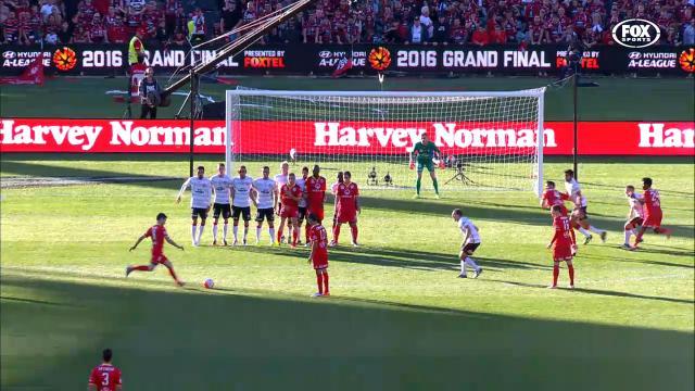 Isaas' magical GF goal