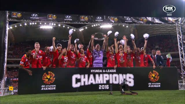 Adelaide crowned champions