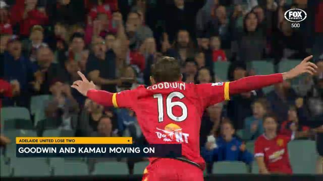 Goodwin, Kamau moving on