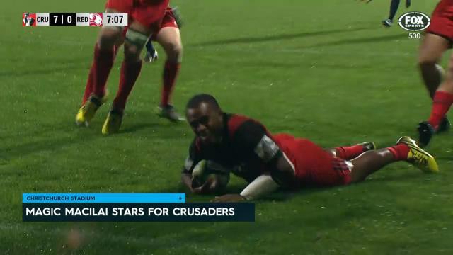 Jone stars in Crusaders win