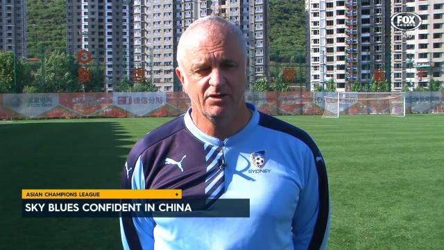 Sky Blues ready for Shandong