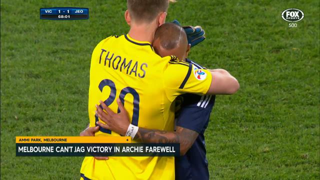 No victory in Archie farewell