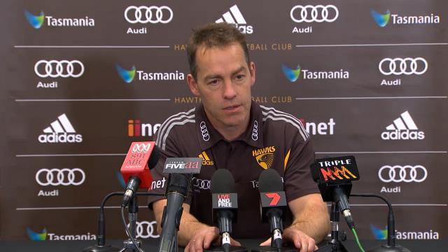 Hawks press conference