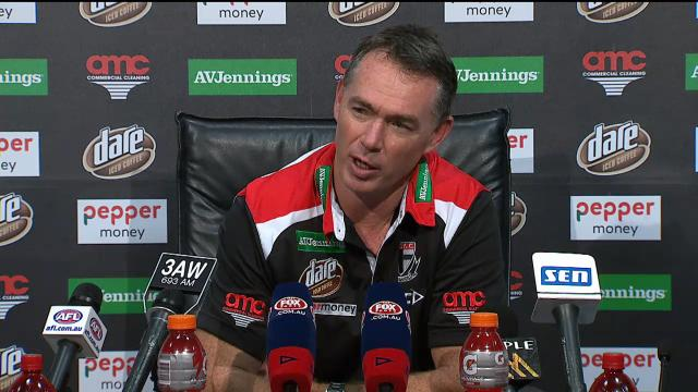 Saints press conference