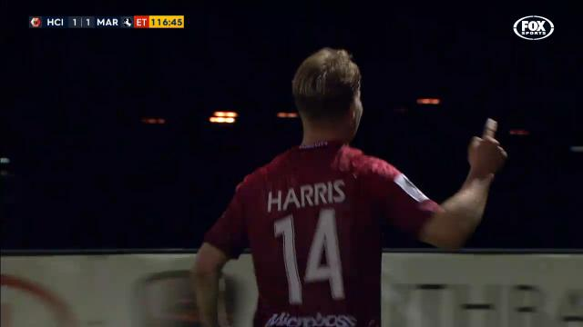 Hume City leave it late