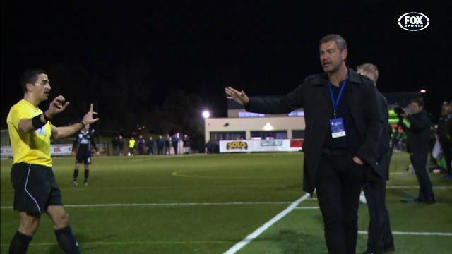 Rudan-cam during FFA Cup loss