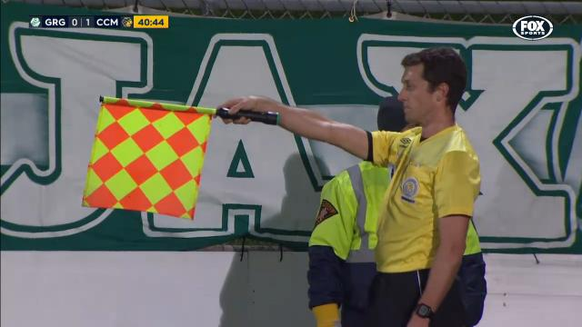 Mariners shocker offside call