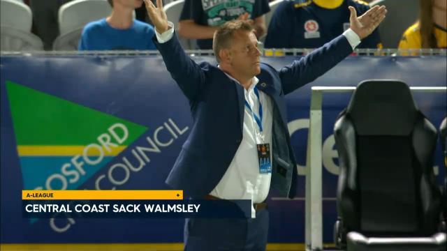 Mariners sack Walmsley