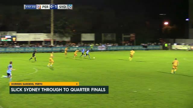 Sydney FC down Glory in R16