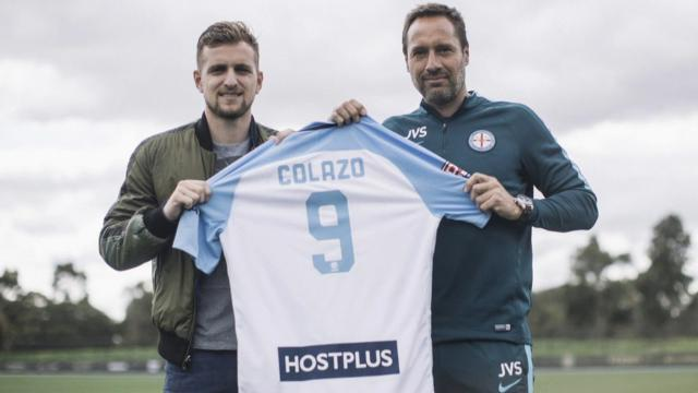 Colazo joins Melbourne City