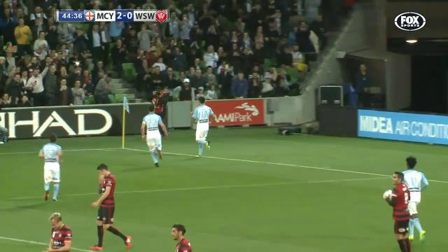 Cahill's first goal for City
