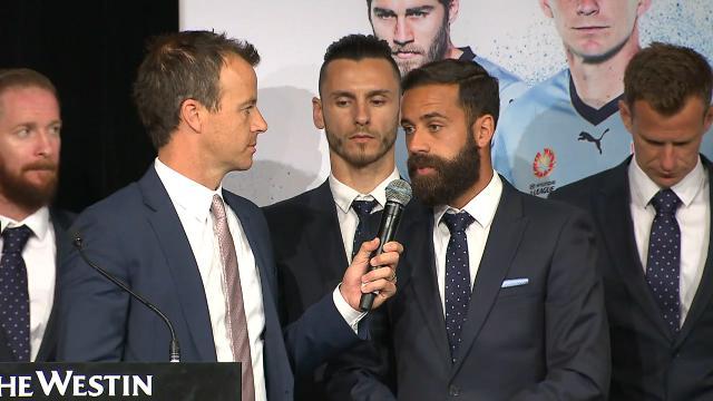 Brosque on Sydney derby