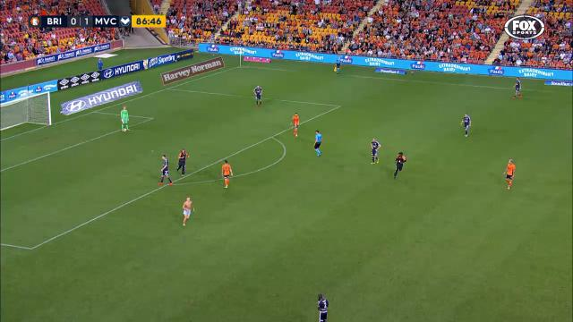 Pitch invaded in Brisbane