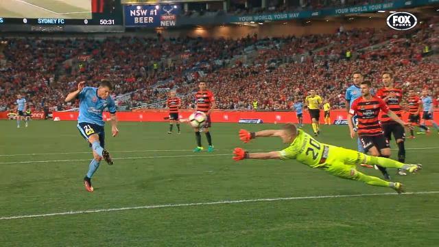 Sydney's four min derby brace