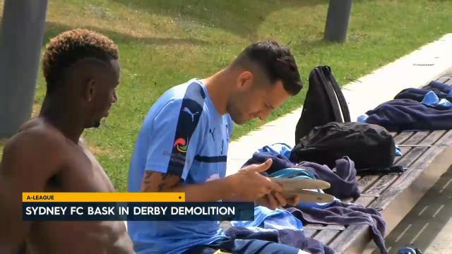 FC bask in derby demolition