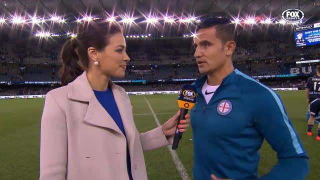 Cahill post match interview