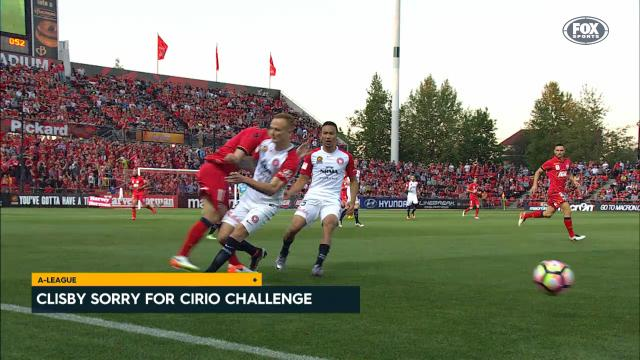 Clisby reaches out to Cirio