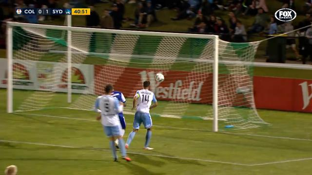 Brosque's unfathomable miss