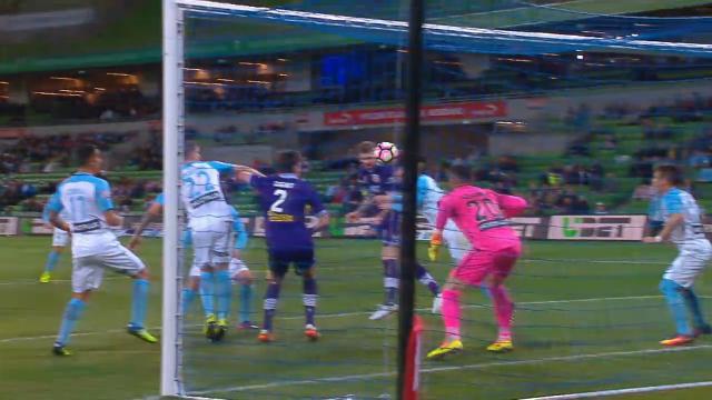 A-League round three goals