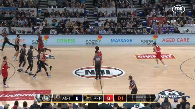 MEL v PER: Full Match Replay