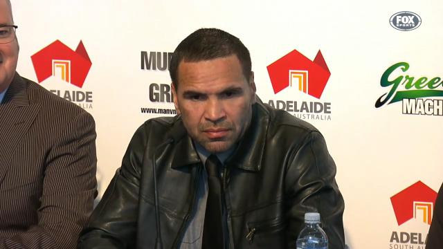 Mundine, Green shots fired